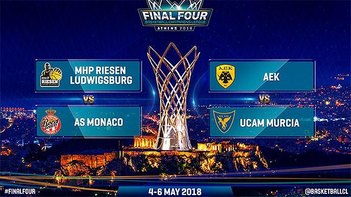 El Murcia de Marcos Delía se medirá al AEK Atenas en el Cuadrangular Final de la Champions League