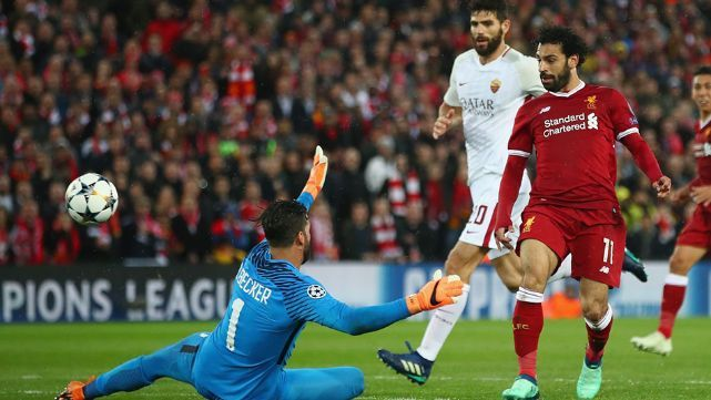 Liverpool aplastó a la Roma y quedó a un paso de la final
