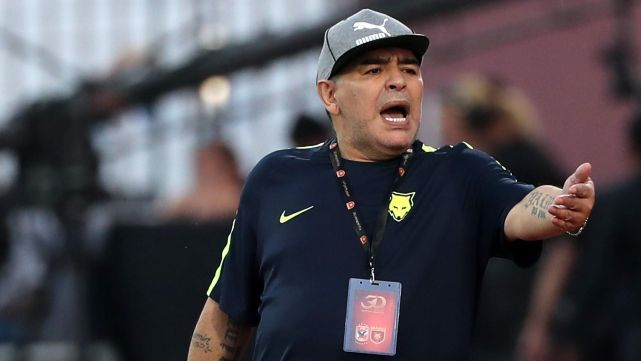 Maradona se quedó sin ascender y renunció