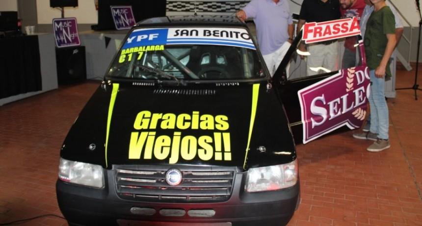 Lucas Barbalarga corre en Concepción del Uruguay