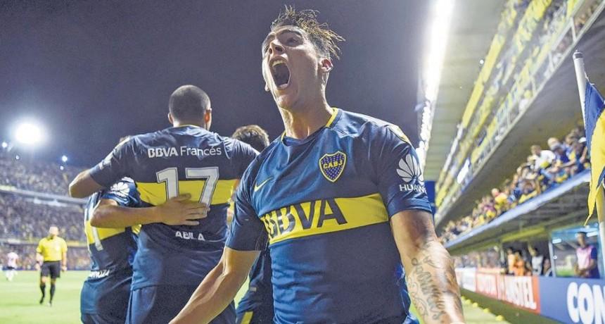 Boca ganó 1 - 0 en la Bombonera frente a Junior de Barranquilla