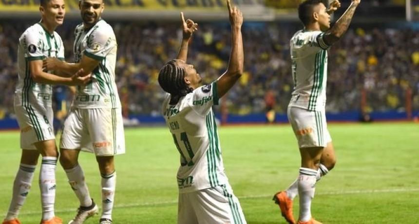 Boca perdió 2 a 0 ante Palmeiras y complicó su futuro en la Copa