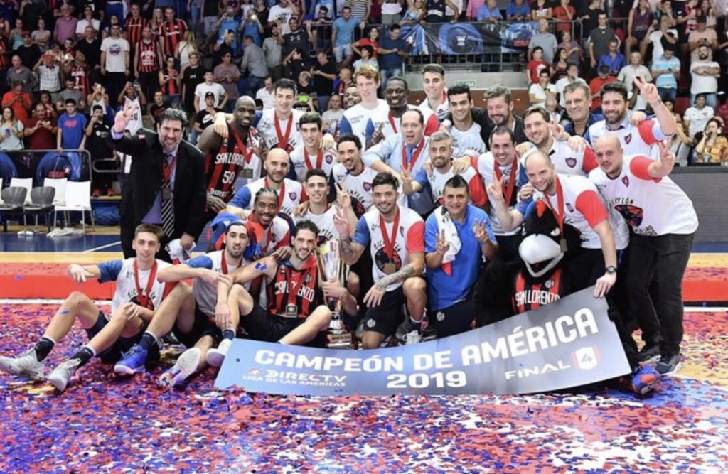 San Lorenzo es el bicampeón de la Liga de las Américas de básquet