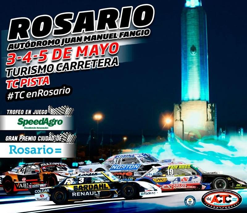 El TC corre este fin de semana en Rosario