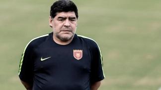 Maradona lamenta la muerte de Toresani: