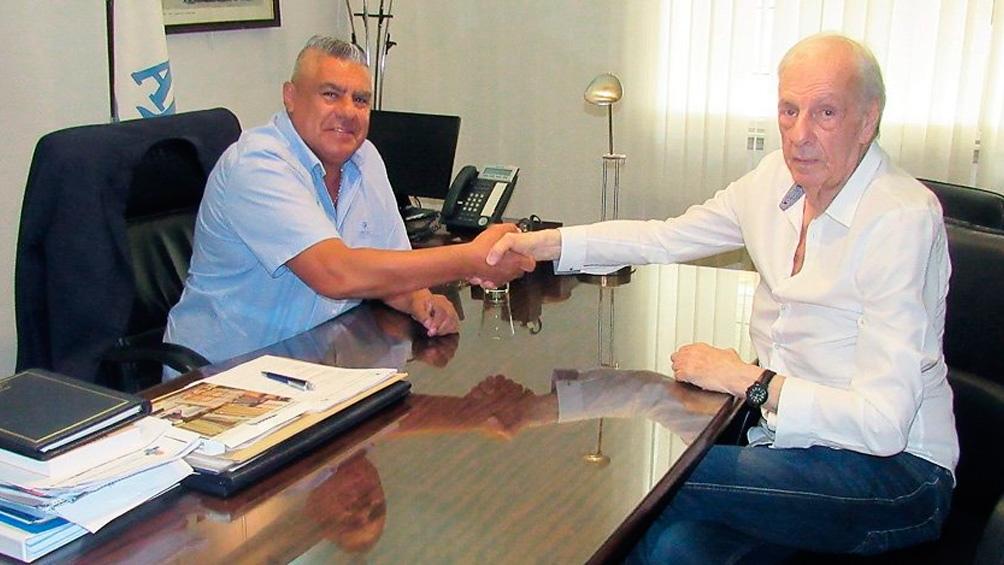 Menotti y Tapia, juntos por el proyecto de la