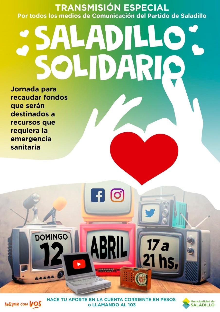 Este domingo: Saladillo Solidario