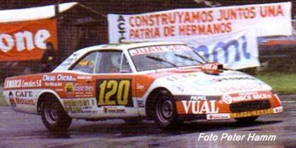 Juan Carlos Nesprias debutaba ganando en Turismo Carretera