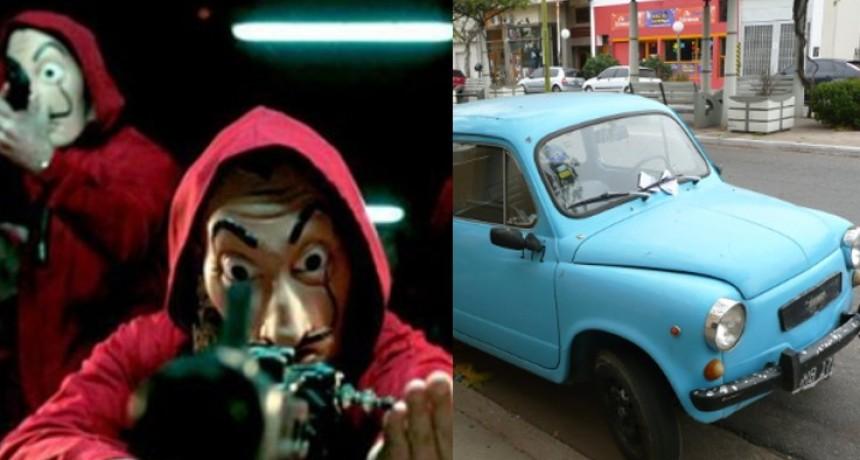 """La pelea menos pensada: """"La Casa de Papel"""" ante los fabricantes del """"Fiat 600"""""""