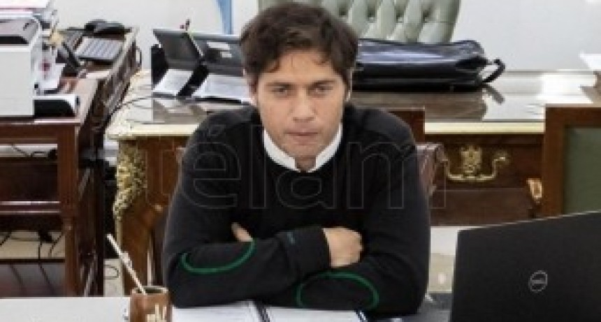 Kicillof afirmó que la provincia atenderá financieramente