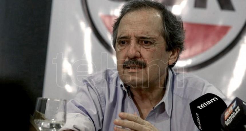 Alfonsín tildó de