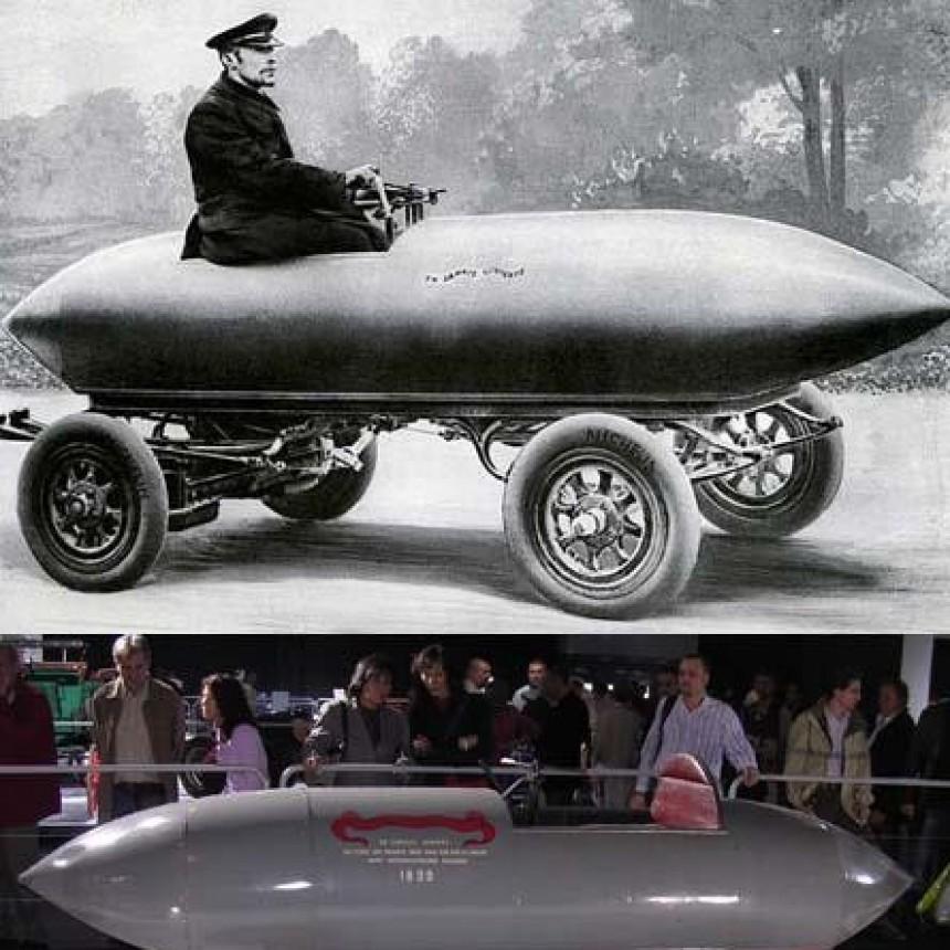 Un 29 de abril en 1899 un automóvil superaba los 100 km