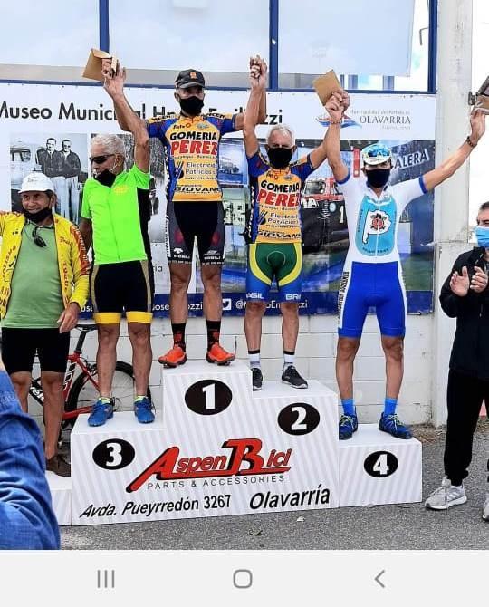 """Saladillenses corrieron en el Gran Premio """"Angel Corradi"""""""