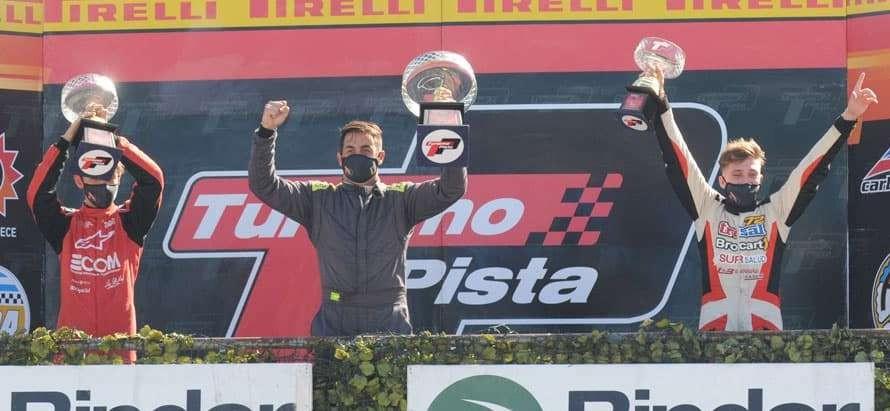 El de 25 de Mayo, Matías Álvarez, repitió victoria en el Turismo Pista