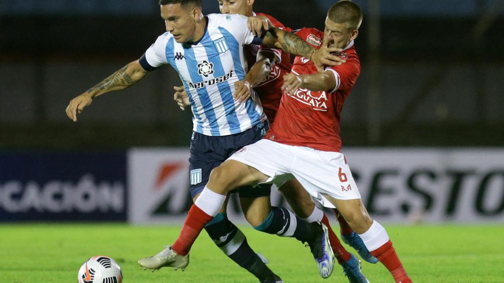 Racing empató con Rentistas de Uruguay en su debut en la Libertadores 2021