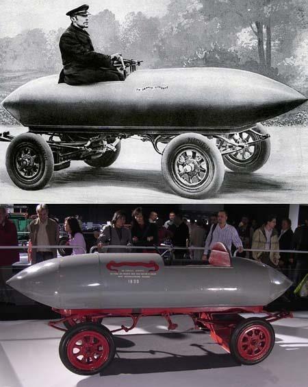 Un 29 de abril pero de 1899 un automóvil eléctrico superaba los 100 km