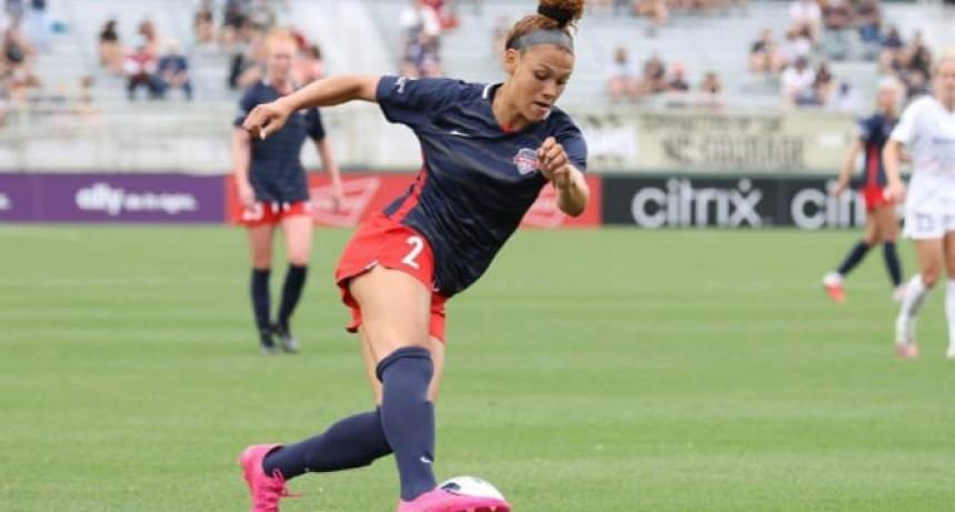 Trinity Rodman, la hija de Dennis que debuto con un gol en el fútbol estadounidense