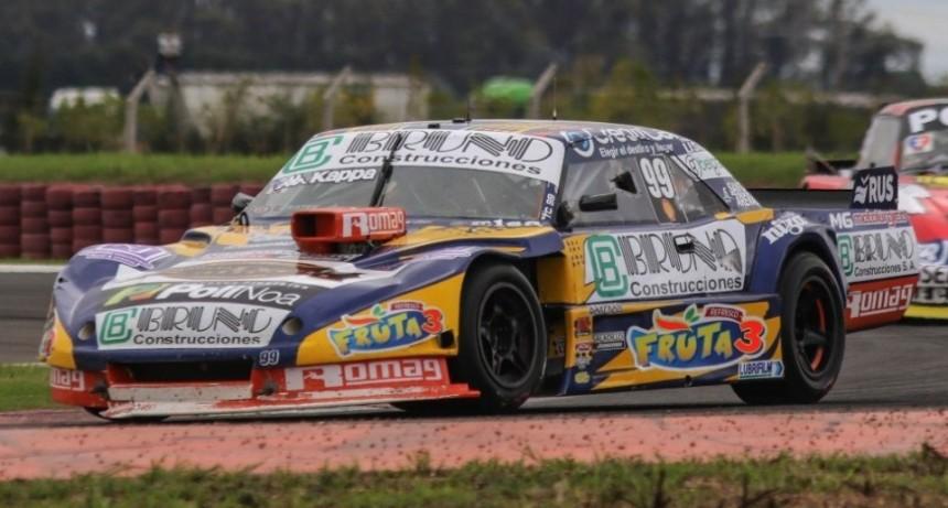 Bruno listo para Concepción del Uruguay donde corre el TC