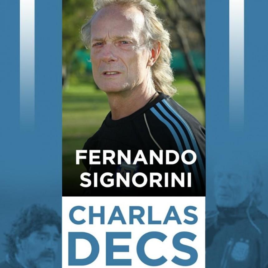 Con la visita de Fernando Signorini se inicia el Programa DECS en Saladillo