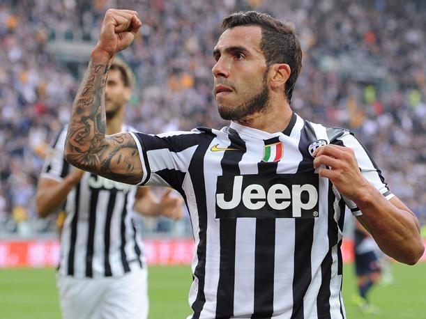 Carlitos Tevez campeón con la Juve