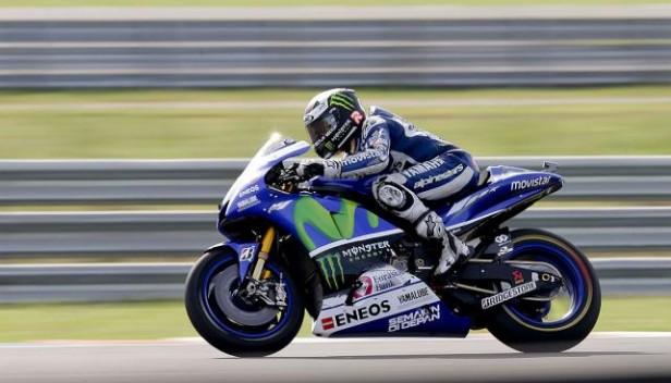 Lorenzo sorprendió en Jeréz con la pole en el Moto GP