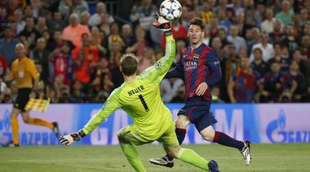 El muro hacia Berlín se vino abajo. Nada aguanta en pie ante el imparable Messi.