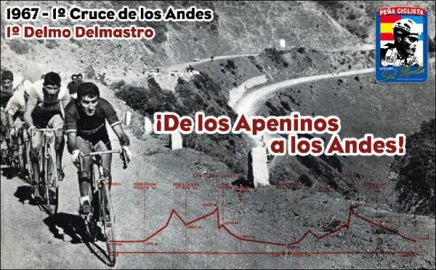 Hoy: el gran ciclista Delmo Dalmastro cuando corrió en Saladillo