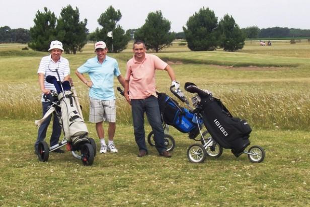 Se jugó la primera fecha del Torneo Comercial de Golf