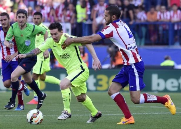 Al ritmo de Messi el Barcelona se corono campeón de la Liga de España