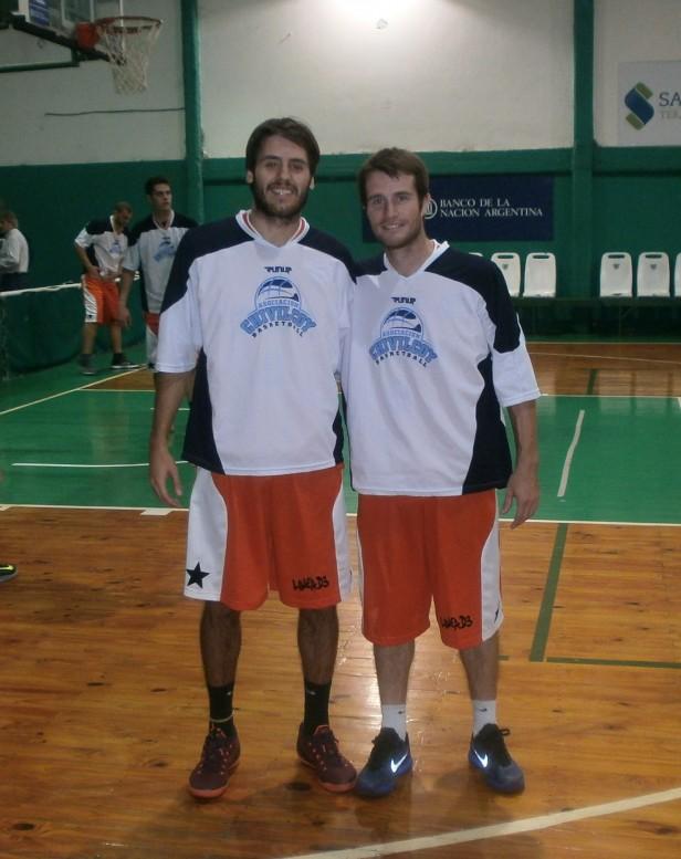 Lautaro Hansen y Ovi Debiasi jugaron en la selección de Chivilcoy