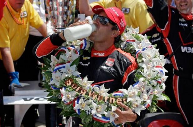 Juan Pablo Montoya ganó por segunda vez las 500 Millas de Indianápolis
