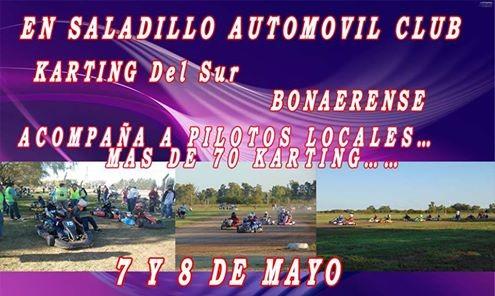 Saladillenses corren este fin de semana en el Saladillo Automóvil club