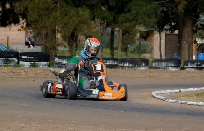 Se corrió la cuarta fecha del Karting del Sur Bonaerense