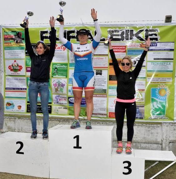 Buena actuación de ciclistas saladillenses en Alvear