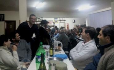 Veteranos de Urso organizaron cena