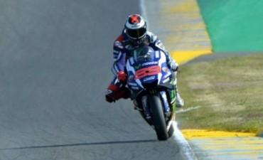 Jorge Lorenzo ganó en Francia