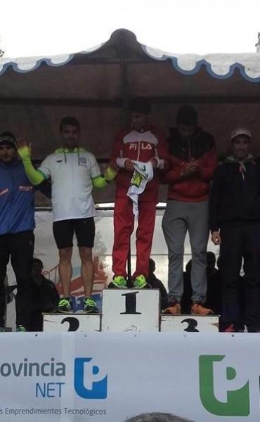 Ezequiel Aguilera corrió los 10K de Olavarria