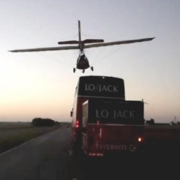 Locura de Marcos Di Palma con su avión