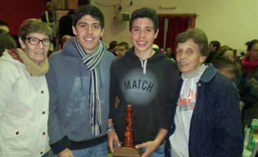 Yago Zamora fue campeon en sub15 en Sierras Bayas
