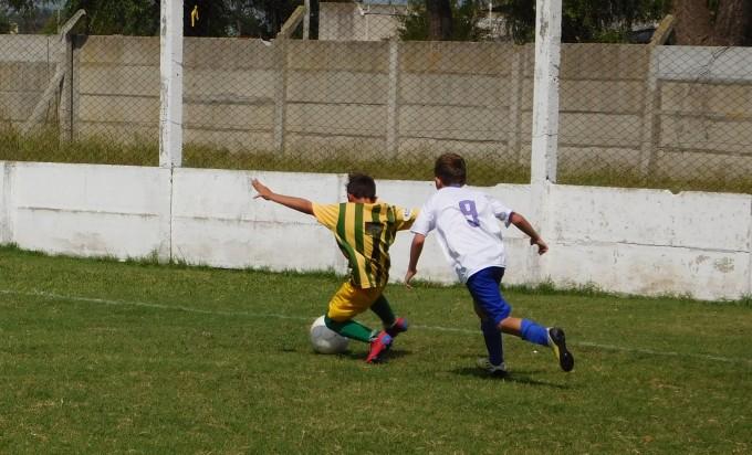 Programa fecha de las Divisiones Inferiores de fútbol