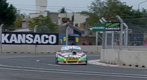 Juan M. Bruno 36° en la primera clasificación en San Luis