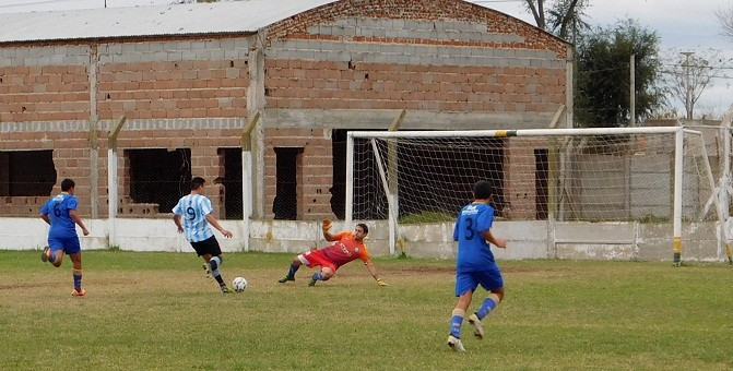 El clásico saladillense fue para Argentino que le ganó a Huracán 1 a 0
