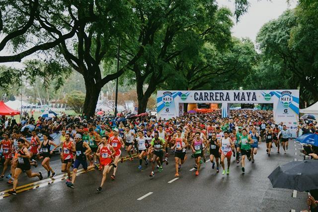 Ezequiel Aguilera participo de una nueva edición de la Carrera Maya