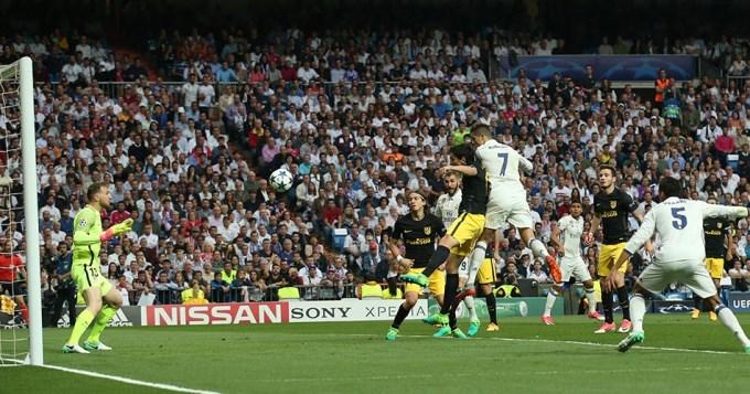 Cristiano clavó un hat-trick y le dio un Real baile al Atlético del