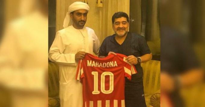 Maradona se vuelve a poner el buzo de DT