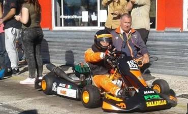 Nono Simonetti fue octavo en el kartódromo de Buenos Aires