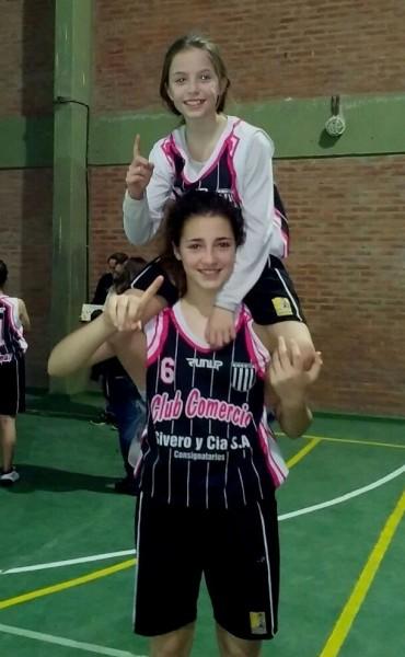 Belén Rojas integra la selección sub13 de básquet de Olavarría