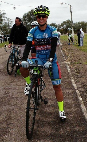 Ciclistas saladillenses corrieron en Tapalque