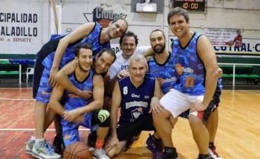 Este domingo continúa el Torneo de Maxibasquet en Saladillo
