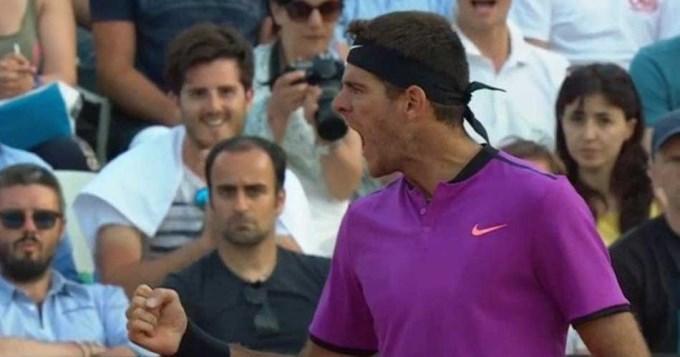 Delpo ganó en Roma y se mide en cuartos con Djokovic